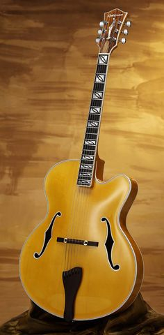 Gallinaro Celeste archtop... like the fretboard inlays