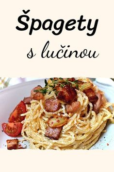 Czech Recipes, Ethnic Recipes, Cooking Recipes, Healthy Recipes, Bon Appetit, Main Dishes, Food And Drink, Low Carb, Lunch