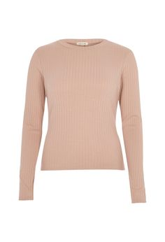 Checkout this Dusty softly ribbed top from River Island