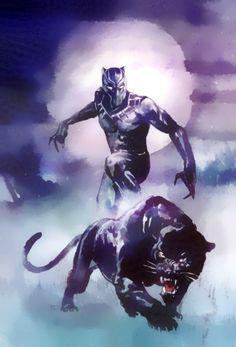 The king of Wakanda T'Challa.