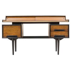 1960's Floating Desk by Milo Baughman for Drexel   From a unique collection of antique and modern desks at https://www.1stdibs.com/furniture/storage-case-pieces/desks/