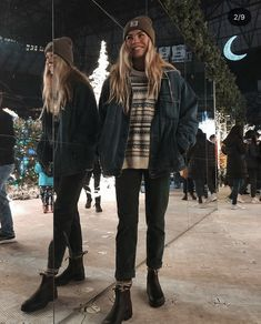 Fall Winter Outfits, Autumn Winter Fashion, Surfergirl Style, Mode Outfits, Fashion Outfits, Hippie Stil, Mode Grunge, Granola Girl, Mode Ootd