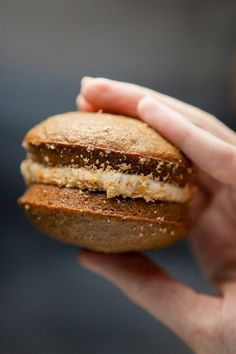 Pumpkin Cookie Sandwiches, just like they sell at the Amish Markets.