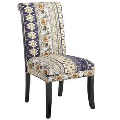 Angela Deluxe Dining Chair - Kantha Blue   Pier 1 Imports