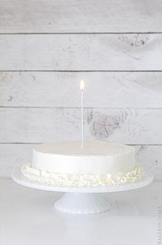 Swiss meringue buttercream cake ♥