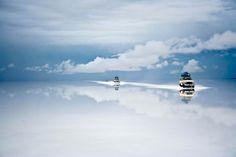 Dark Roasted Blend: Fantastic Landscapes of the Bolivian Salt Lake