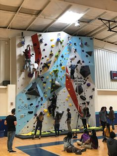 59 Recreation Centers trust Eldo to build their climbing walls. Climbing Wall Kids, Indoor Climbing, Rock Climbing, Sport Climbing, Bouldering Wall, Modular Walls, Kids Play Area, Wall Installation, Custom Wall