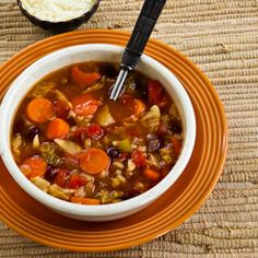 Barley Minestrone with Canadian Bacon, Savoy Cabbage, and Rosemary Recipe on Yummly