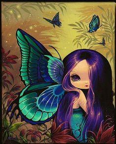 Jewel Tone Fairy