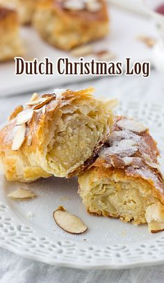 Dutch Christmas Log