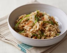 """Can't wait to try this recipe """"Coconut Basil Brown Rice"""" by Kathryn Budig from Giada's digital weekly! @Giada De Laurentiis"""
