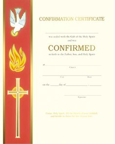 Print Your Own Free Confirmation Certificates Designed By Good Ground Press Free Catholic