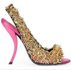Roger Viver Jeweled Heels