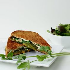 Jalapeno popper grilled cheese sandwhich