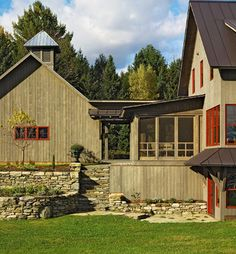 Barn Houses Design Ideas, Pictures, Remodel, and Decor - page 6