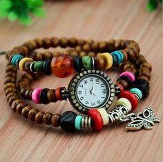 reloj pulsera pepas vintage retro dama mujer varios modelos
