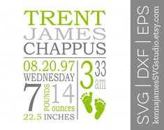 Birth Announcement Template, Birth Announcement Boy, Baby Boy Gifts, Gifts For Boys, Baby Svg, Family Signs, Baby Birth, Welcome Baby, Templates
