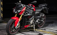 Download wallpapers BMW Motorrad S 1000 RR, 4k, 2017 bikes, sportbikes, german motorcycles, BMW