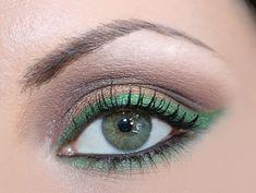 Make up verde e oro: per occhi verdi e castani