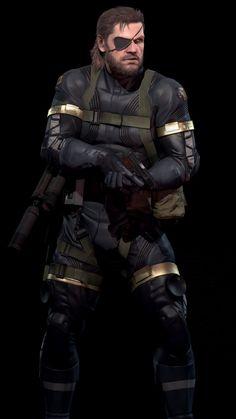Big Boss - Metal Gear Solid V The Phantom Pain #MGSV #MGSVTPP #NakedSnake #VenomSnake #PunishedSnake #ThePhantomPain #MetalGearSolidV #BigBoss #DiamondDogs #fanart