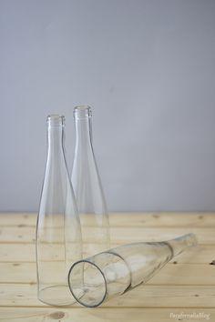 DIY: Mi nueva lámpara con botellas