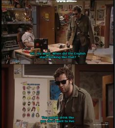 One of my favorite lines from the IT Crowd