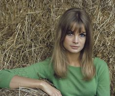 Model Jean Shrimpton, as photographed for Look magazine, United Kingdom, 1966, photograph by David Hurn.