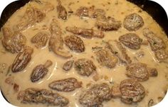 Sauce aux Morilles Mayonnaise, Sauce Recipes, Cooking Recipes, Dips, Weird Food, Mushroom Recipes, Chutney, I Foods, Creme
