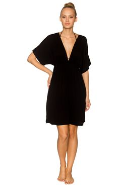Lavish Beach Day Dress 806 Black