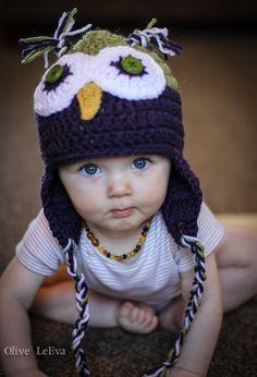 Owl Hat by Kikiscraftshop on Etsy, $18.99