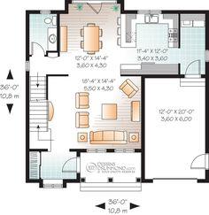 plan maison kangourou