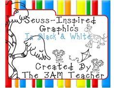 Seuss-Inspired Clip Art