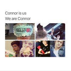 We are connor!!!