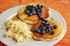 Breakfast for dinner easy dinner easy healthy dinner No Egg Pancakes, Fluffy Pancakes, Buttermilk Pancakes, Banana Pancakes, Best Pancake Recipe Ever, Sugar Free Syrup, Breakfast For Dinner, Breakfast Recipes, Thing 1