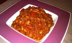 Vegetariánské chilli con carne Chana Masala, Paleo, Ethnic Recipes, Food, Essen, Beach Wrap, Meals, Yemek, Eten