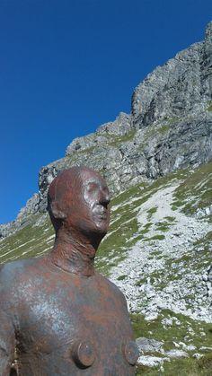 Antony Gormley Art im Bregenzerwald