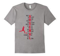 77e351b1f9e Amazon.com  Gooner Arsenal FC Fan T-shirt  Clothing