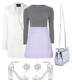 """Untitled #78"" by danielaprzhrtd on Polyvore featuring Lanvin, Glamorous, Carven, ASOS, Proenza Schouler and River Island"