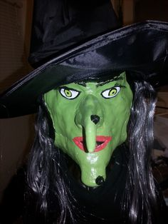 Wicked Witch Pumpkin - 2016 contest entry.