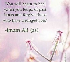 Forgive and forget..