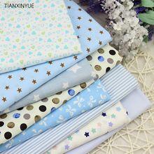 Sarga 8 unids Tela de Algodón para DIY de Coser Patchwork Niños ropa de Cama de Dibujos Animados Bolsas Dot Muñeca Tilda Textiles Tela Tela 40*50 cm(China (Mainland))
