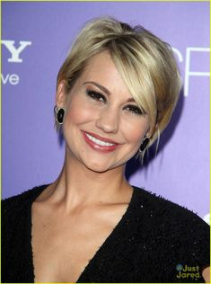 I don't know if I could ever go THIS short again but man it looks cute and would be so easy..