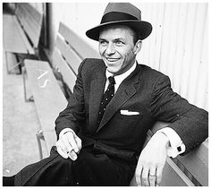 The classic Sinatra shot. A Fun and often wild Sagittarius with an Aries Rising, the passionate temper of Sinatra.  www.sloanbella.com