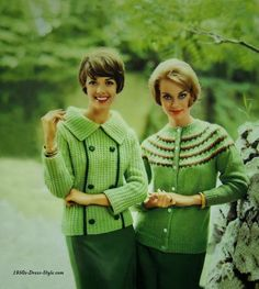 1950s Dress Style | Festival of Sweaters
