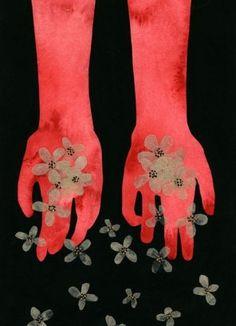 "Scatter ~ Dan-ah Kim ~ 2013   ~   ""Cease consuming, practice generosity.""    ~                      Joan Halifax"