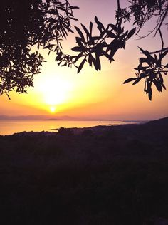 #Sunset over #Cagliari gulf, #Sardinia #italy enjoy and if you like re-pin :)