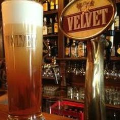 Prague, Czech Republic: Velvet beer