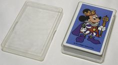Disney Goofy as the Joker Set of Playing Cards with Mickey, Minnie, Donald