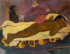 gauguin nevermore the spirit of the dead