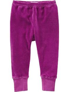 Velour Pants for Baby